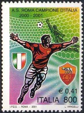 Roma campione di calcio 2000-2001