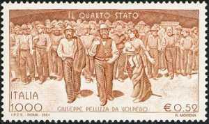 centenario della ultimazione del dipinto «Il Quarto Stato» di Giuseppe Pellizza da Volpedo
