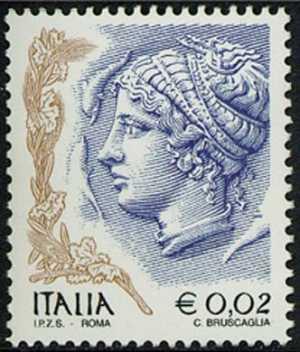 «La donna nell'arte» - «Tetradramma» , moneta di Siracusa