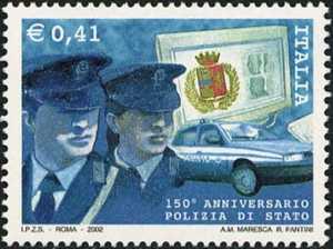 «Le Istituzioni» - 11ª serie - 150° Anniversario della Polizia di Stato