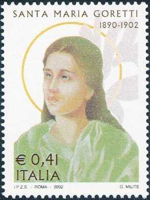 Centenario della morte di Santa Maria Goretti - ritratto