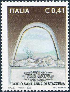 Eccidio di Sant'Anna di Stazzema - scultura del Monumento Ossario