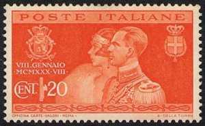 1930 - Nozze del principe Umberto con Maria Jose del Belgio