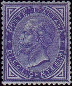 1877 - tipi precedenti in colori diversi