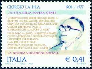Centenario della nascita di Giorgio La Pira - giurista
