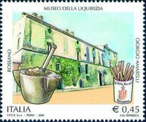Patrimonio artistico e culturale italiano - Museo della Liquirizia «Giorgio Amarelli» , Rossano ( Cosenza )