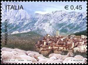 Transumanza attraverso il Tratturo Magno - Castel del Monte ( Aq )