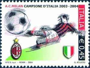 Milan campione d'Italia 2003-2004
