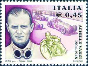 Centenario della nascita di Achille Varzi - pilota automolistico e motociclistico