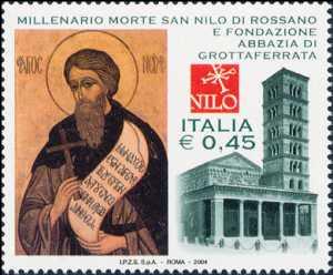 Millenario della morte di San Nilo di Rossano e celebrazione della fondazione dell'Abbazia di Grottaferrata