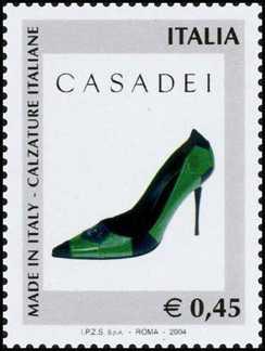 «Made in Italy» - 1ª serie - Calzature italiane  - Casadei