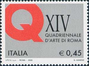 14ª Edizione dell'Esposizione Quadriennale di Roma - logo