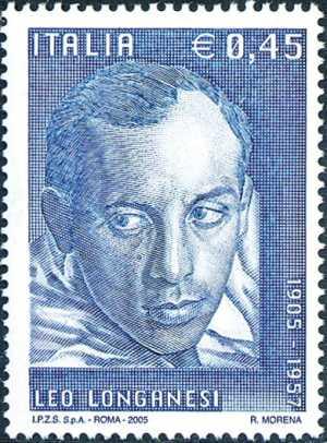 Centenario della nascita di Leo Longanesi - giornalista ed editore - ritratto
