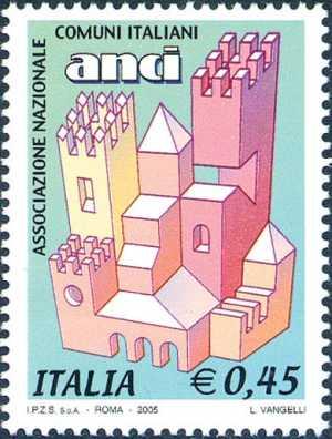 «Le Istituzioni» - 20ª serie - Associazione Nazionale Comuni Italiani ( ANCI ) - logo