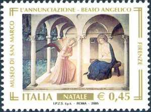 Natale - «L'Annunciazione» del Beato Angelico