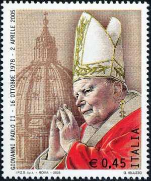 Omaggio a Papa Giovanni Paolo II