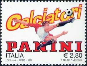 Omaggio alla Panini S.p.A. - logo della Casa Editrice di figurine