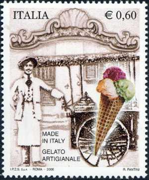 «Made in Italy» - 2ª serie - Gelato artigianale - venditore ambulante