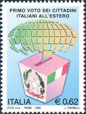 Primo voto dei cittadini italiani all'estero