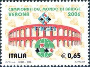 Campionati del mondo di Bridge - Verona - l'Arena