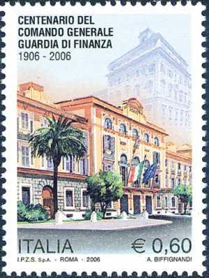 Centenario dell'istituzione del Comando Generale della Guardia di Finanza