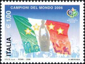 La Nazionale italiana vincitrice dei Campionati mondiali di calcio «Germany 2006»