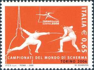 «Lo sport italiano» - Campionati del mondo di scherma