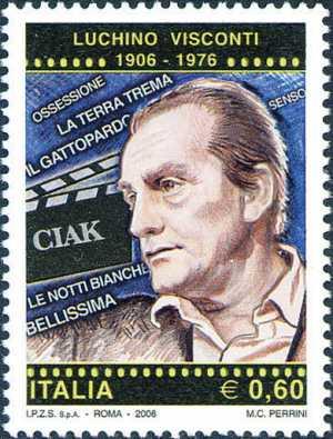 Centenario della nascita di Luchino Visconti - ritratto del regista