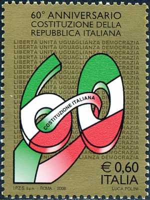 60° Anniversario della promulgazione della Costituzione della Repubblica Italiana