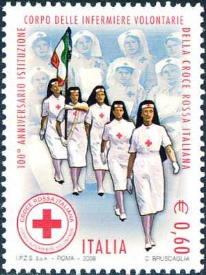 Centenario della istituzione del Corpo delle Infermiere Volontarie della Croce Rossa Italiana