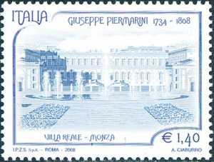 Bicentenario della morte di Giuseppe Piermarini - architetto - Villa Reale a Monza