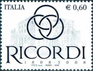 Bicentenario della fondazione della Casa Ricordi
