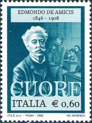 Centenario della morte di Edmondo De Amicis - ritratto dello scrittore