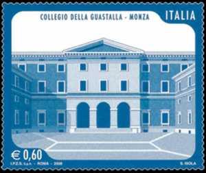 «Scuole ed Università» - Collegio della Guastalla di Monza  - facciata di Villa Barbò Pallavicini
