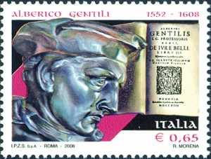 4° Centenario della morte di Alberico Gentili - giurista