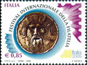 Festival internazionale della Filatelia  «Italia 2009»  - 85 c.