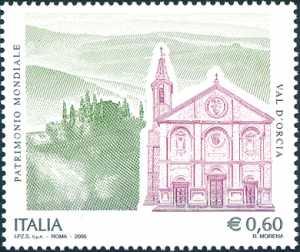 Patrimonio artistico e culturale italiano - Val d'Orcia -  Patrimonio mondiale dell'Unesco
