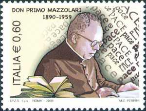 50º anniversario della morte di don Primo Mazzolari - ritratto