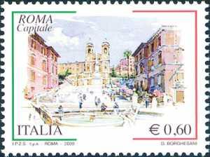 «Roma Capitale» - 3ª serie -  Piazza di Spagna