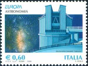 Europa - 54ª serie - Astronomia - Telescopio Galileo