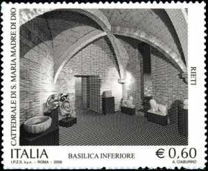 Patrimonio artistico e culturale italiano  - 9° Centenario della Cattedrale Santa Maria Madre di Dio in Rieti
