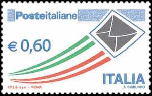 «Posta Italiana» - Serie ordinaria  - 60 c.