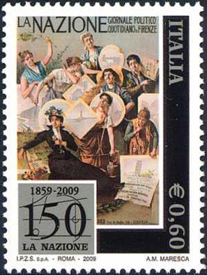150º anniversario del quotidiano «La Nazione»