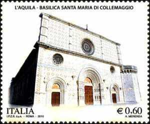 Arte romanica d'Abruzzo - Basilica Santa Maria di Collemaggio (AQ)