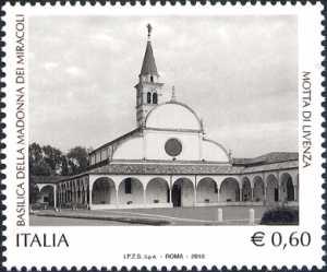 Basilica della Madonna dei Miracoli di Motta di Livenza (TV), nel V centenario dell'apparizione della Vergine