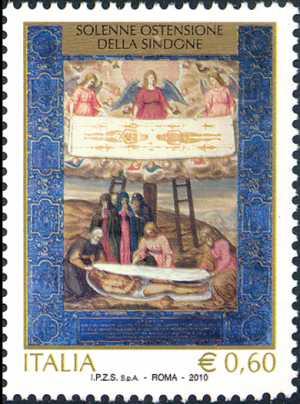 Solenne Ostensione della Sacra Sindone a Torino - dipinto di Gerolamo della Rove