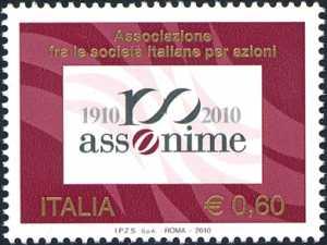 Centenario di Assonime - Associazione fra le società italiane per azioni
