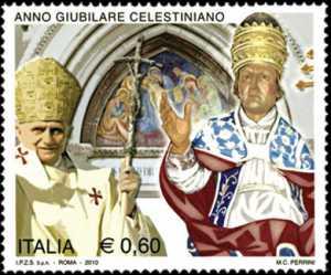 Anno Giubilare Celestiniano - Celestino V e papa Banedetto XVI