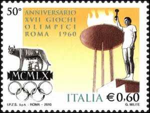 50º Anniversario dei XVII Giochi Olimpici di Roma 1960