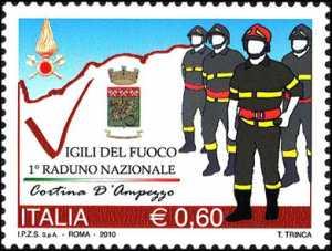 Primo raduno nazionale dei vigili del fuoco